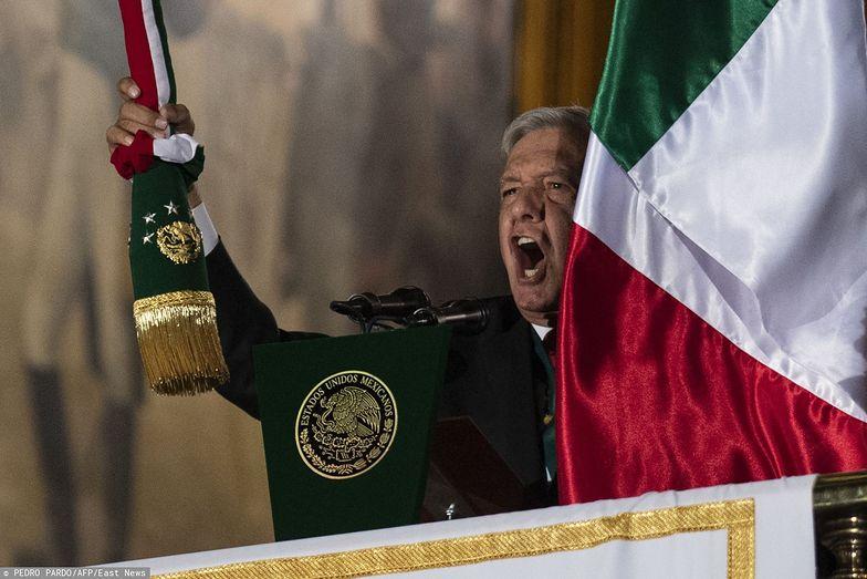 Andres Manuel Lopez Obrador, obecny prezydent Meksyku