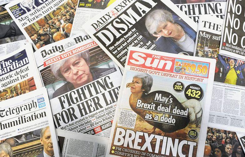 Brytyjska praca nie zostawiła suchej nitki na premier po porażce w parlamencie