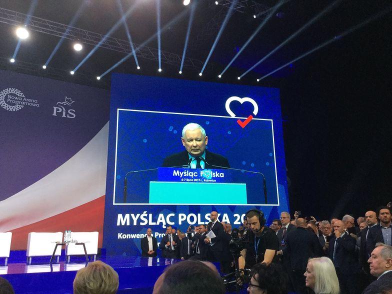 Konwencja programowa PiS. Jarosław Kaczyński o planach rządzącej partii na kolejne lata