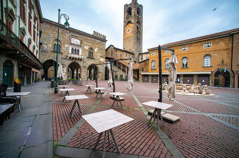 Restauracje we Włoszech świecą pustkami.