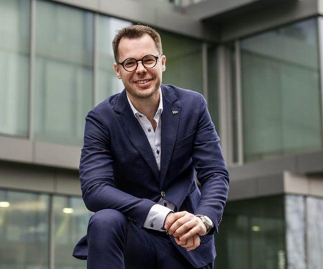 Prezes Wirtualnej Polski Jacek Świderski.