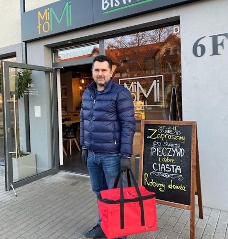 """W """"Bistro Miło MI"""" dostawcą jest Paweł Podedworny - właściciel restauracji."""