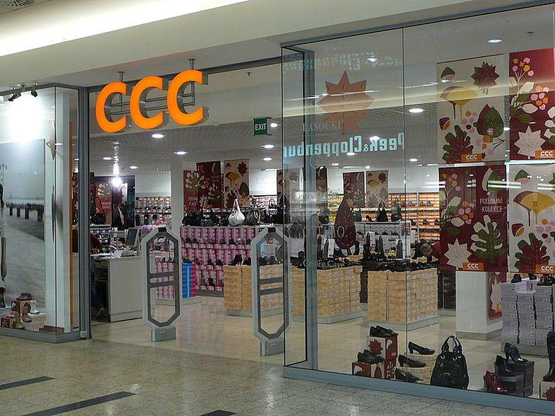 Sklep firmy CCC.