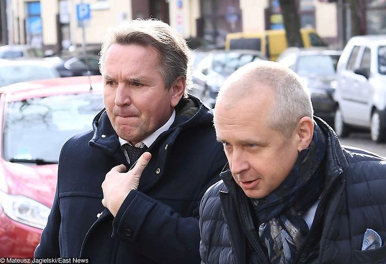 Na zdjęciu Jacek Dubois (z prawej) i Gerald Birgfellner