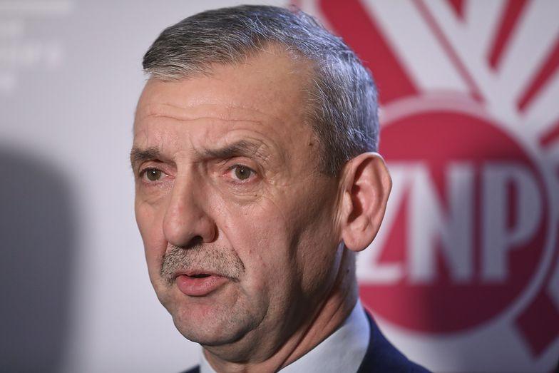 Sławomir Broniarz przyznaje, że KPRM zignorował zaproszenie na spotkanie ze związkowcami