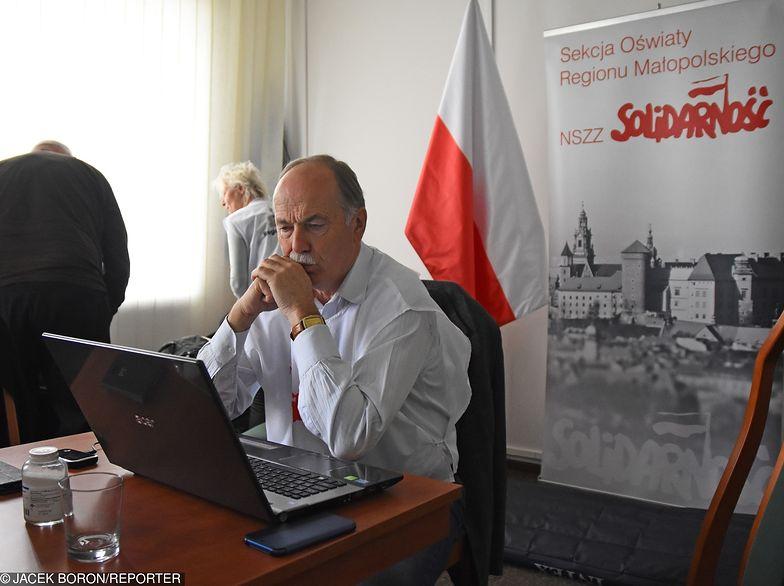 """""""Solidarność"""" buntuje się przeciwko swojemu przewodniczącemu, chce strajku z ZNP."""
