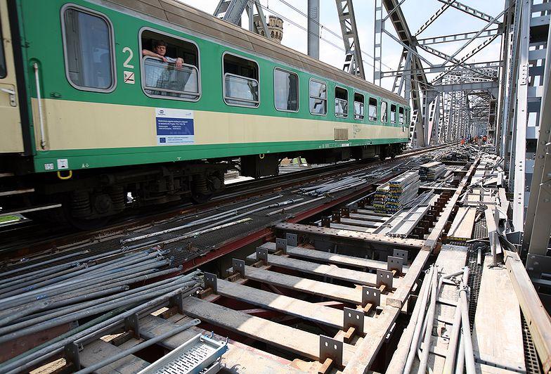 W nowym rozkładzie pociągi pojadą trasą prowadzącą przez nowy most na Bugu.