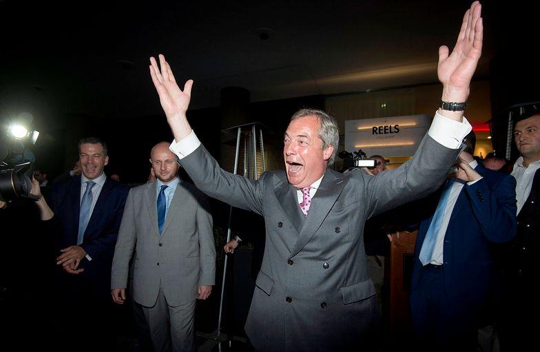 Nigel Farage uważa, że Polska wyjdzie z UE.