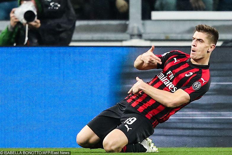 Krzysztof Piątek kosztował AC Milan 35 mln euro. Grupa Comarch dostała pięć procent
