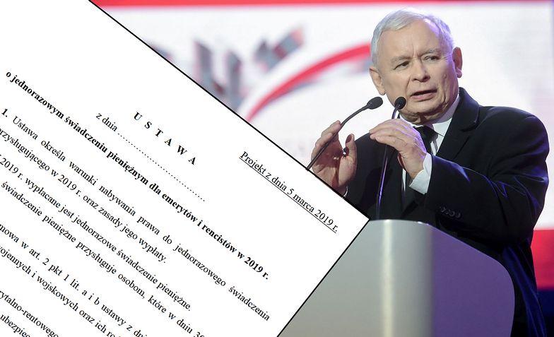 Jarosław Kaczyński ogłosił prawdziwą przedwyborczą niespodziankę - nie mówił o Parlamencie Europejskim, wyliczał kolejne obietnice
