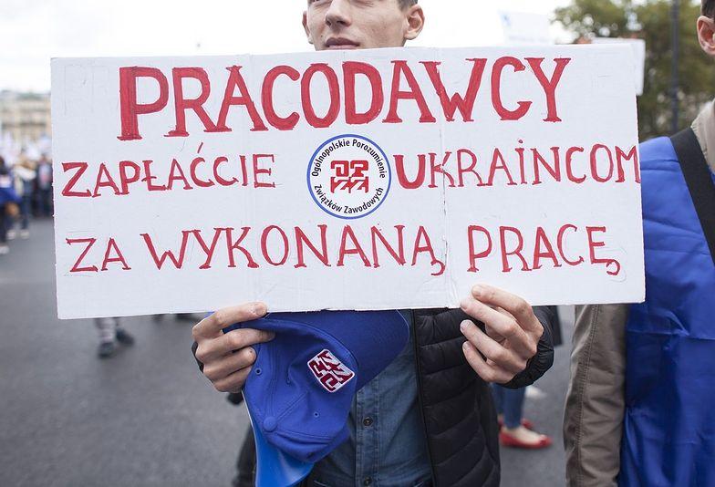 Ukraińcy to najczęściej nielegalnie zatrudniani pracownicy z zagranicy