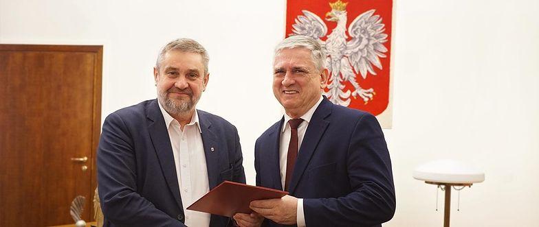 Jan Białkowski odebrał nominację na stanowisko wiceministra.