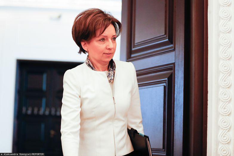 Koronawirus. Minister rodziny, pracy i polityki społecznej Marlena Maląg zapewnia, że rząd pamięta o przedsiębiorcach przez epidemię.