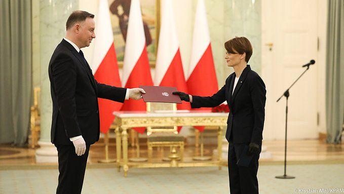 Jadwiga Emilewicz wicepremierem. Zastąpiła Jarosława Gowina