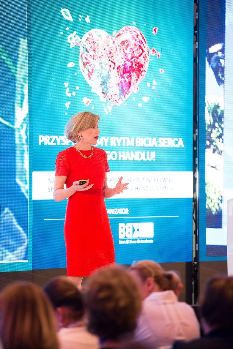 Geraldine Huse - prezes Procter & Gamble w Europie Centralnej.