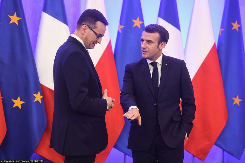 W poniedziałek premier Mateusz Morawiecki spotkał się z prezydentem Francji Emmanuelem Macronem