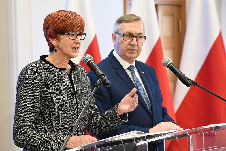 Minister Rafalska przedstawiła propozycję płacy minimalnej.