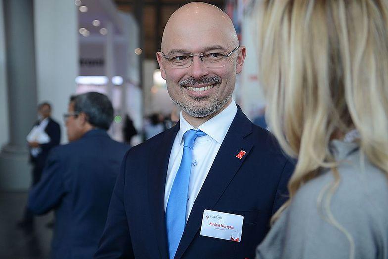 Minister klimatu Michał Kurtyka.