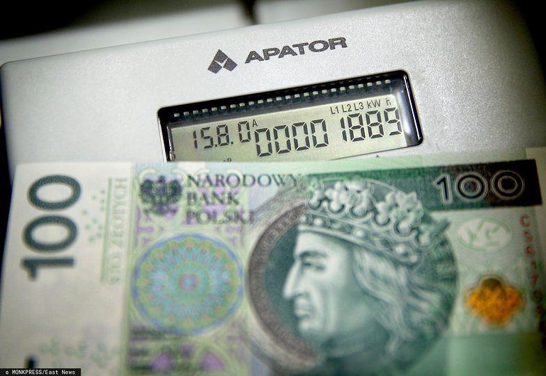 Rekompensaty za wzrost cen prądu wyniosą od 34 do 306 zł