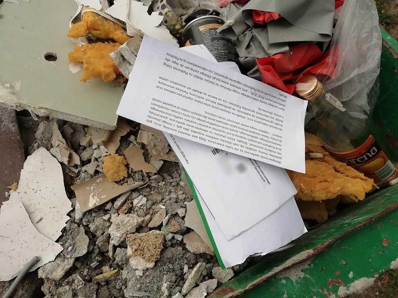 List z ZUS na śmietniku to zły pomysł. Nasz czytelnik mógł poznać wszystkie dane przyszłego seniora.