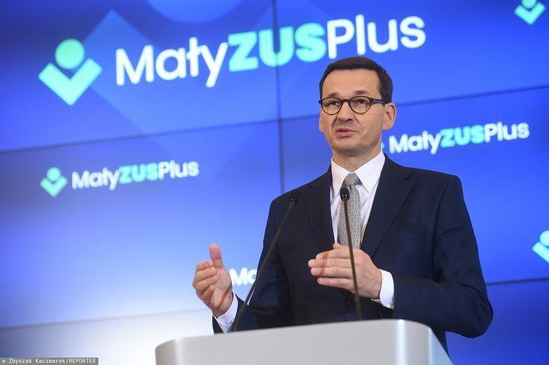 Premier zapewnia, że ponad 300 tys. przedsiębiorców skorzysta z małego ZUS-u.