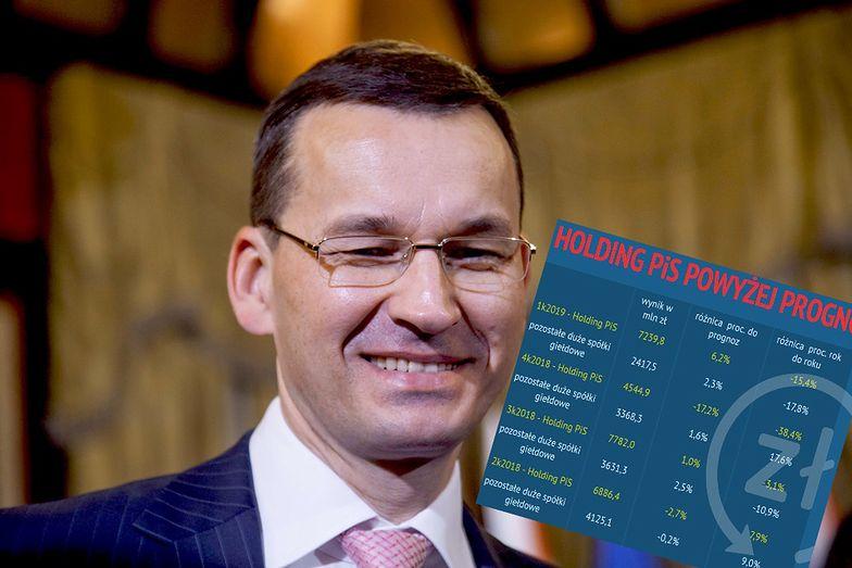 Premier Mateusz Morawiecki tym razem może pochwalić menadżerów