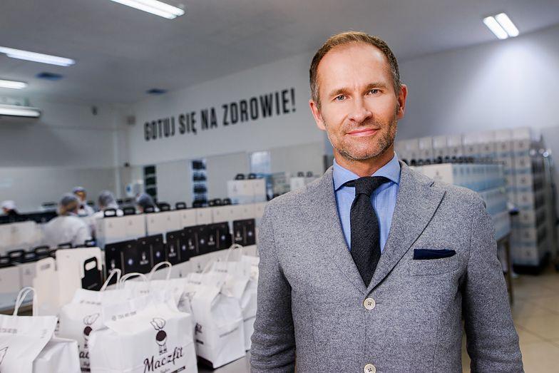 Maciej Lubiak, prezes Maczfit Foods w rozmowie z money.pl o sekretach pudełkowych diet