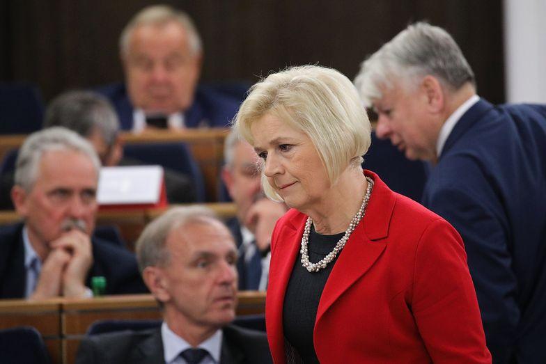Lidia Staroń nie zagłosowała za prof. Grodzkim. Teraz tłumaczy swoją decyzję