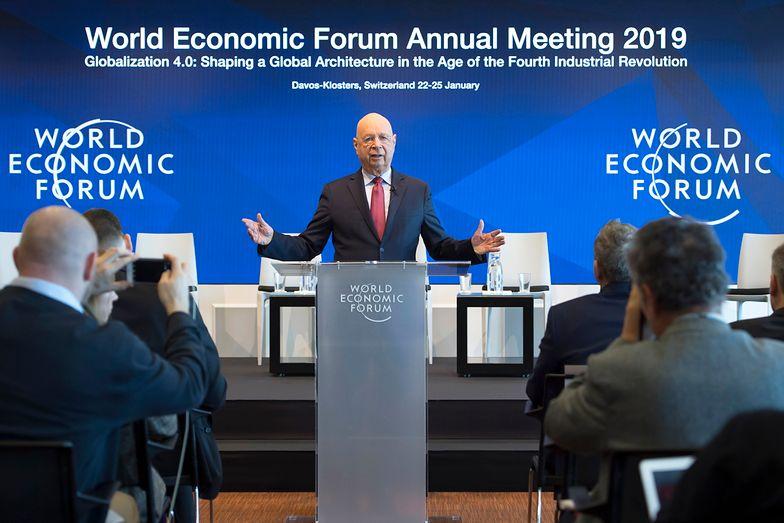 Klausa W. Schwab, prezes wykonawczy Światowego Forum Ekonomicznego w Davos