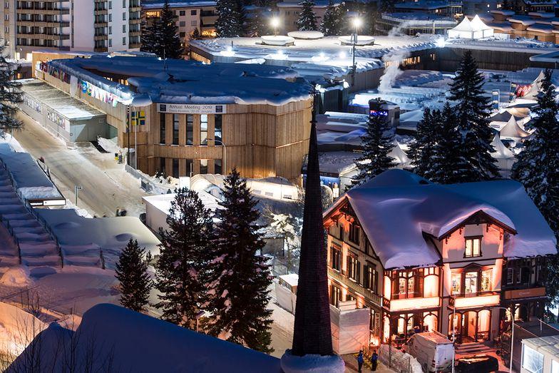 Światowe Forum Ekonomiczne w Davos.