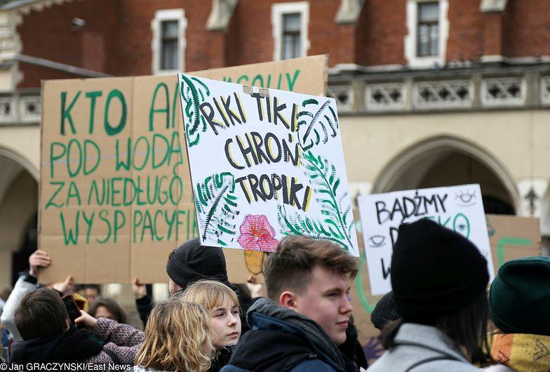 Młodzieżowy Strajk Klimatyczny. Młodzi Polacy wyszli już na ulice polskich miast w marcu. Z tego samego powodu