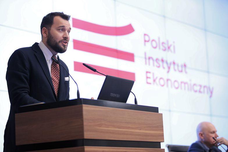 Prognoza PKB w górę. Na zdj. Piotr Arak, dyrektor Polskiego Instytutu Ekonomicznego