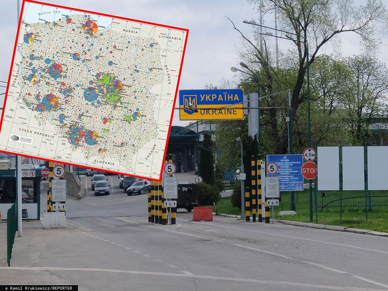 Ukraińcy wybierają przede wszystkim zachód Polski. Choć wiosną i latem chętnie wybierane są przez nich też nieduże gminy rolnicze