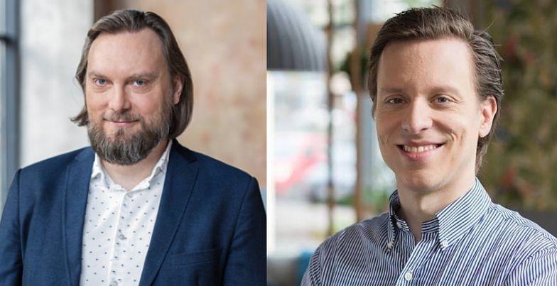 Marcin Walaszczyk i Aymeric Monod-Gayraud.