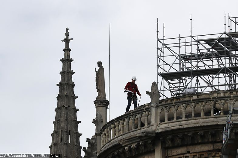 Pożar w Notre Dame wybuchł 15 kwietnia.