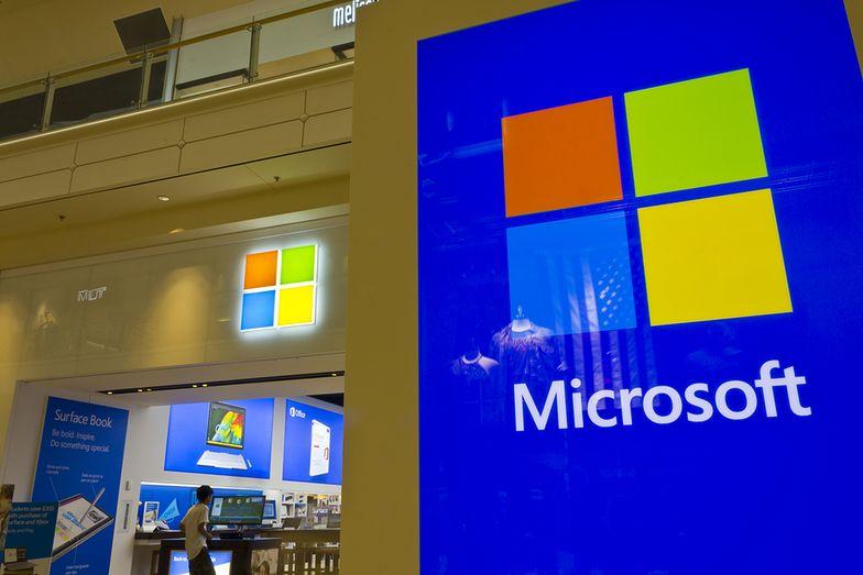 Microsoft idzie na rekord świata. Najdroższa spółka globu jeszcze drożeje
