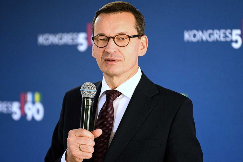 Mateusz Morawiecki wskazuje, że Polska uniezależnia się od Niemiec.