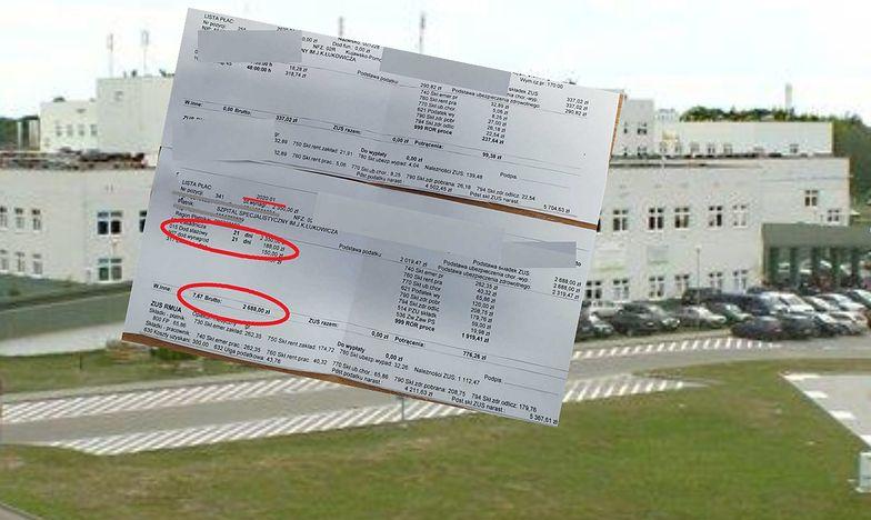 Inspektorzy wzięli pod lupę wynagrodzenia 200 pracowników działów gospodarczych, transportu i sekretarek szpitala w Chojnicach.