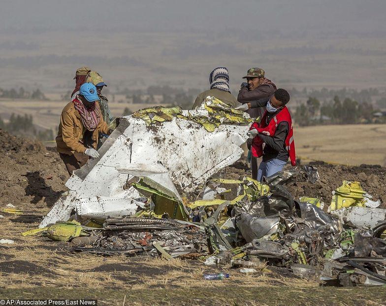 W Etiopii rozbił się Boeing 737 MAX.