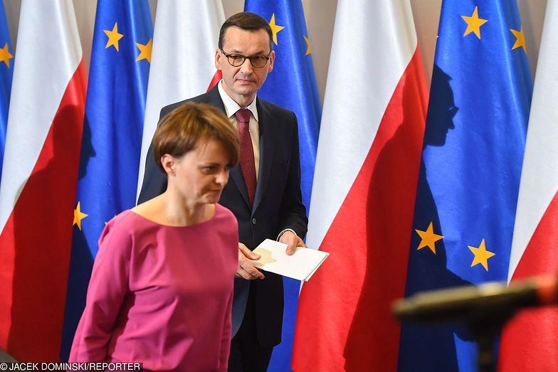 Premier Mateusz Morawiecki mówił o całej Polsce, wyszła tylko ćwiartka.