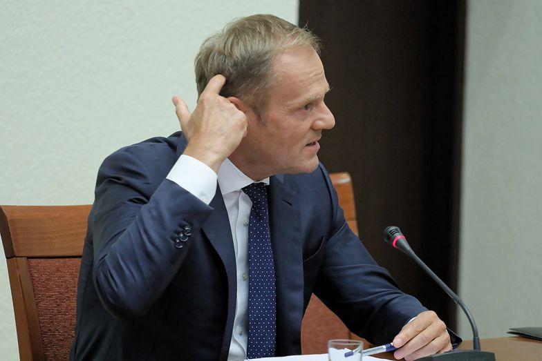Donald Tusk wraz z innymi czołowymi politykami PO może stanąć przed Trybunałem Stanu. Taki wniosek ma złożyć komisja śledcza ds. wyłudzeń VAT