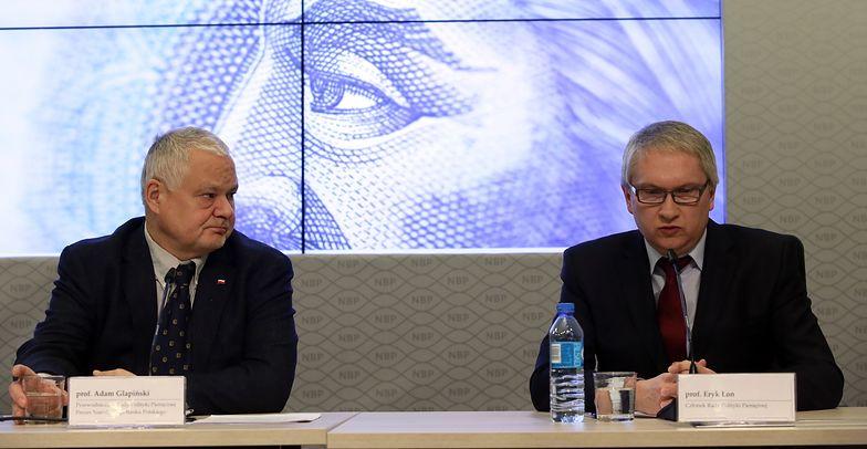 Adam Glapiński i Eryk Łon w ramach RPP decydują o stopach procentowych w Polsce.