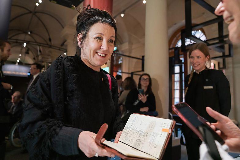 Olga Tokarczuk we wtorek odbierze literacką nagrodę Nobla