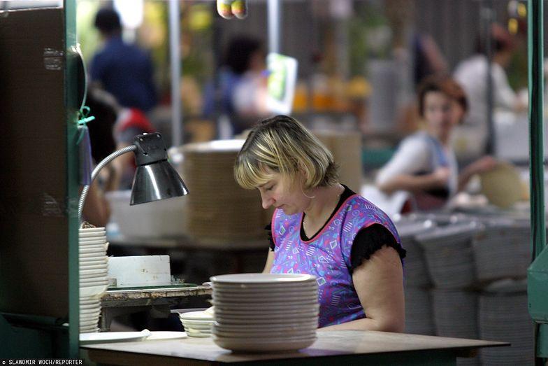 Zakład produkcji porcelany w Chodzieży w Wielkopolsce rozpoczął produkcję 1852 roku.