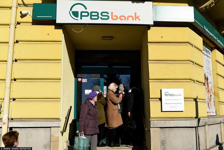Od połowy stycznia bank PBS jest w przymusowej restrukturyzacji