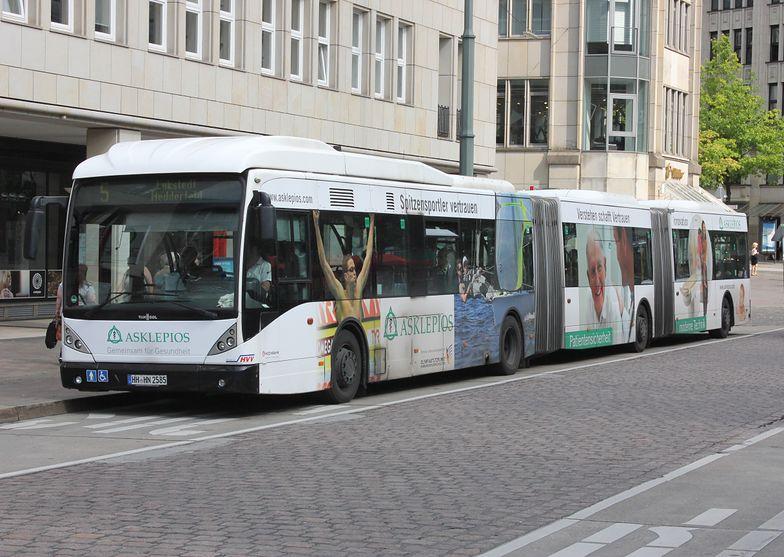 Autobusy w Hamburgu będą ładowane przez polską firmę