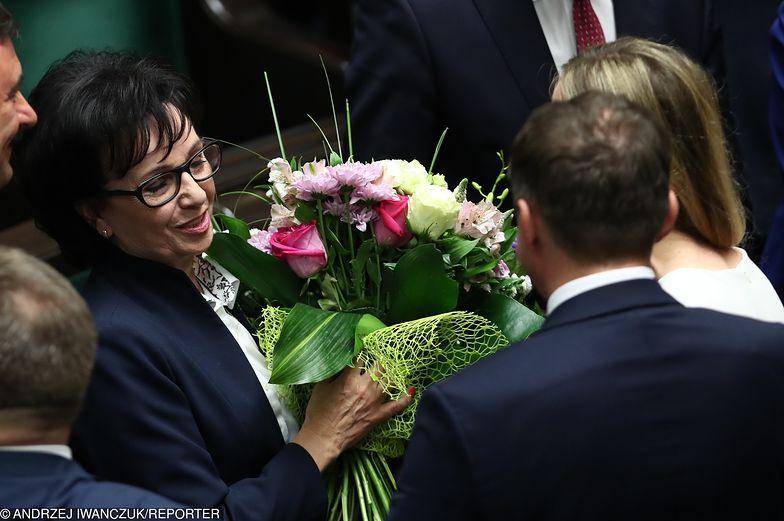 Elżbieta Witek właśnie została wybrana na nowego marszałka Sejmu.