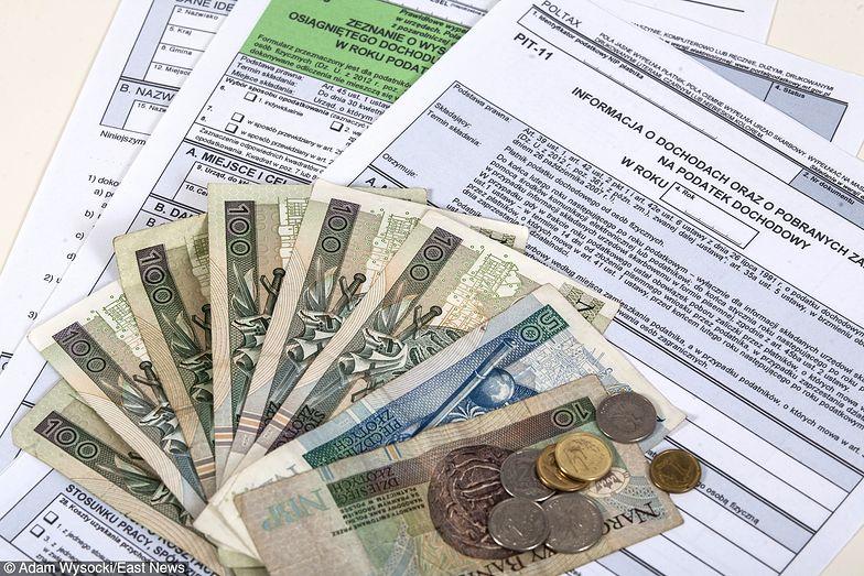 Nowa stawka PIT. Podatek dochodowy od osób fizycznych obniżony