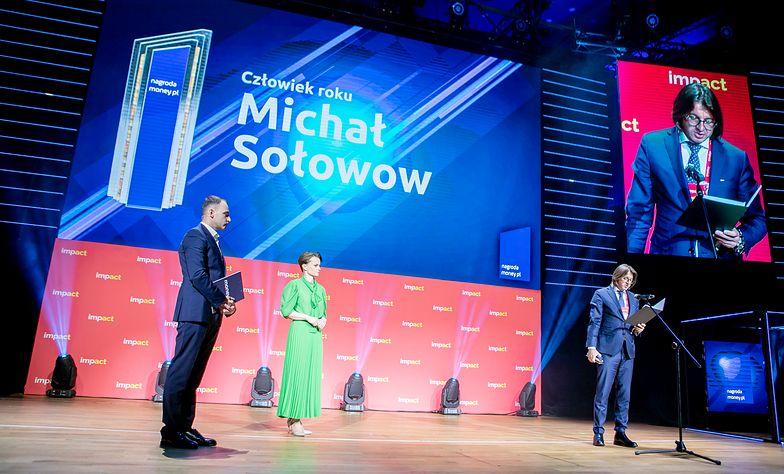 Tytuł Człowieka Roku przypadł Michałowowi Sołowowi.