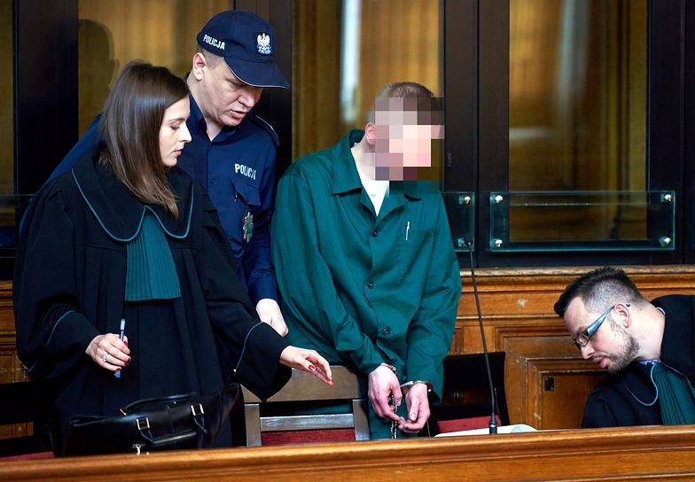 Marcin P. został uznany za winnego. Jego obrońca żądał oczyszczenia ze wszystkich zarzutów.